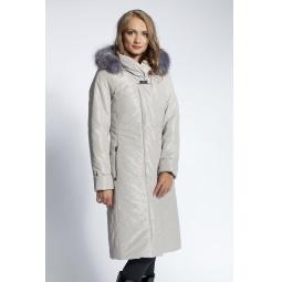 """Купить Пальто """"Ия"""" - жемчужный"""