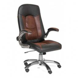 Купить Кресло для руководителя 'Chairman' Chairman 439 коричневый, черный/серый, черный