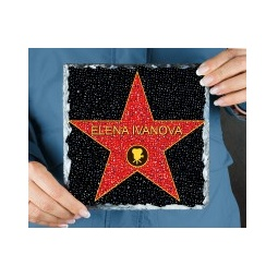 фото Голливудская Звезда - камень