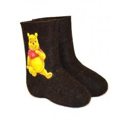 """Купить Валенки детские""""Winnie the Pooh"""""""