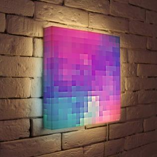 "Купить Лайтбокс ""Абстракция 4"" 35x35-053 FotonioBox"
