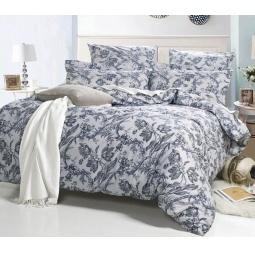фото Постельное белье Поплин 1,5 спальный А169-1 СайлиД