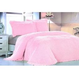 фото Плед Меховой Лама розовая акварель 160*220 см DCT072D-8-160 Tango