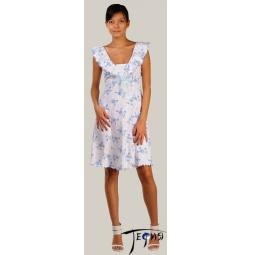 Купить Женская ночная сорочка из трикотажа 100% хб арт.  1-52