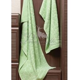 Купить Махровое полотенце Piera зеленое 50х90 см 30415 Примавель