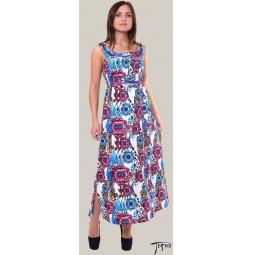 Купить Платье из трикотажного полотна 100 % хб  арт. 6-40
