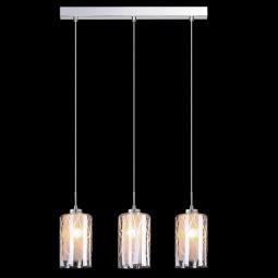 фото Подвесной светильник Eurosvet 50001/3 хром Eurosvet
