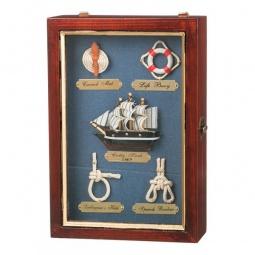 Купить Ключница 'АРТИ-М' (18х26 см) Морской узел 271-004