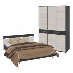 Купить Гарнитур для спальни 'Мебель Трия' Сити ГН-194.000 тексит/каттхилт