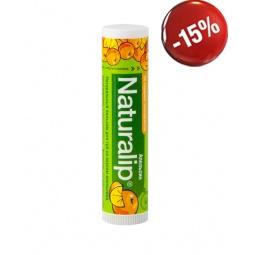 фото Натуральный бальзам для губ со вкусом апельсина, Naturalip, 4,25 г.