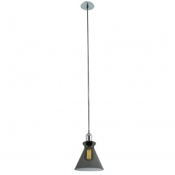 фото Подвесной светильник Crystal Lux Campanella SP1 Smoke Crystal Lux