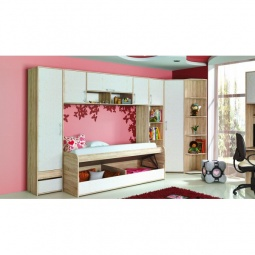 Купить Набор для детской 'Мебель Трия' Атлас ГН-186.006 дуб сонома/хаотичные линии