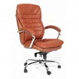 Купить Кресло для руководителя 'Chairman' Chairman 795 коричневый/хром, черный