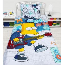 Купить Бязь 1,5 спальное Симпсоны 250148 Мона Лиза
