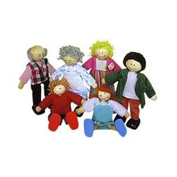 Купить Куколки ГОРОДСКАЯ СЕМЬЯ