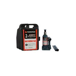 Купить Домкрат бутылочный FORSAGE T90204S, 2т с клапаном (h min 150мм, h max 278мм) в кейсе