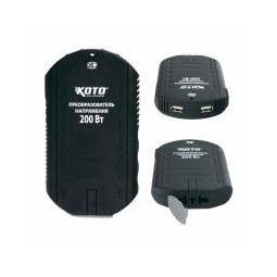 Купить Преобразователь напряжения с двумя USB портами 200ВТ