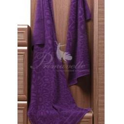 Купить Махровое полотенце Vitra фиолетовое 50х90 см 29410 Примавель