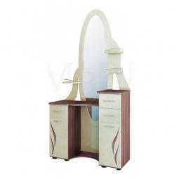 Купить Стол туалетный 'Витра' Орхидея 3.11 ясень шимо темный/перламутр глянец