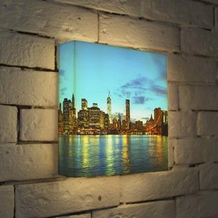 """Купить Лайтбокс """"NYC 2"""" 25x25-110 FotonioBox"""