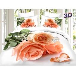 фото КПБ Сатин Евро набивной 3D PX94-3 SEDA