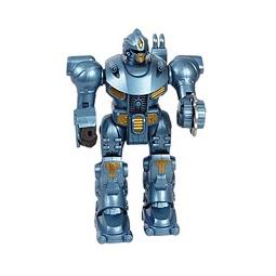 Купить Робот голубой металлик (со светом)