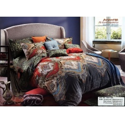 Купить КПБ Сатин 1,5 спальный ts01-35 Tango
