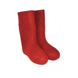 Купить Валенки мужские красные
