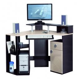 Купить 'Олимп-мебель' Стол компьютерный Костер-7 5210-00 венге/клен светлый