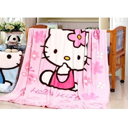 фото Плед микрофибра Hello Kitty 150х200 см pld025-1 Tango
