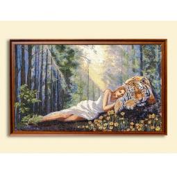 Купить Картина из гобелена - Летние грёзы