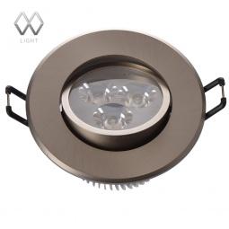 фото Встраиваемый светильник MW-Light Круз 637012103 MW-Light