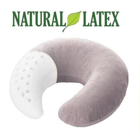 Купить Ортопедическая подушка-рогалик Тривес для путешествий из латекса ТОП-209
