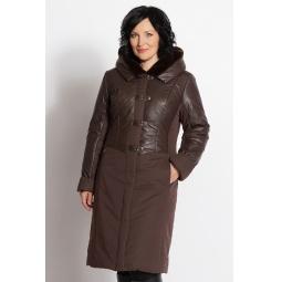 """Купить Пальто """"Глория"""" - темно-коричневый"""