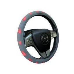 Купить Оплетка на руль Strawberry серый М