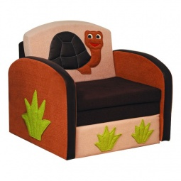 Купить Диван-кровать 'Олимп-мебель' Мася-8 Черепаха 8151127 бежевый/коричневый