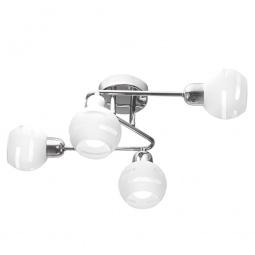 Купить Потолочная люстра IDLamp 361/4A-Whitechrome IDLamp