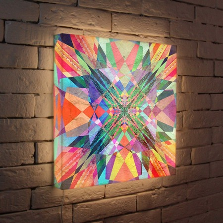 "Купить Лайтбокс ""Абстракция 3"" 45x45-049 FotonioBox"