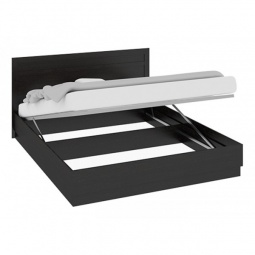 фото Кровать двуспальная 'Мебель Трия' Токио СМ-131.12.001 венге цаво/венге цаво/венге цаво