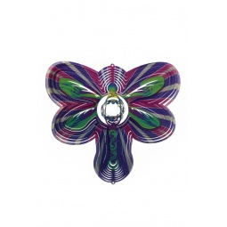 Купить Ветряной спиннер Стрекоза с кристаллом 25см