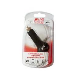 Купить USB автомобильное зарядное устройство AVS 1 порт UC-411