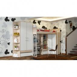 Купить Набор для детской 'Мебель Трия' Атлас ГН-186.001 дуб сонома/хаотичные линии