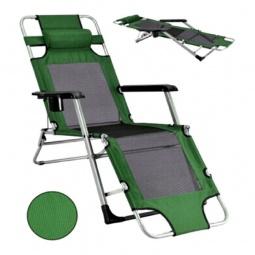 Купить Шезлонг 'Afina' Стелла-2 зеленый