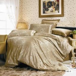 фото Постельное белье Жаккард 1,5 спальное JC09-1 Valtery