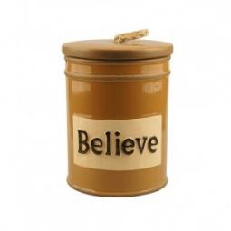 "Купить Баночка-шкатулка ""Believe"""