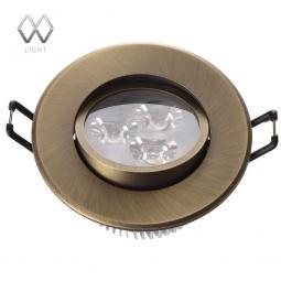 фото Встраиваемый светильник MW-Light Круз 637012203 MW-Light