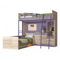 Купить Набор для детской 'Мебель Трия' Индиго ГН-145.006 ясень коимбра/навигатор