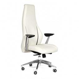 Купить Кресло для руководителя 'Chairman' Chairman Jazzz белый, черный/хром, черный