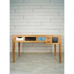 """Купить Рабочий стол """"Aquarelle Birch"""" темный"""