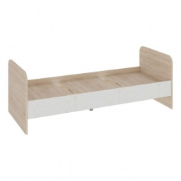 Купить Кровать 'Мебель Трия' Атлас ПМ-186.21 дуб сонома/хаотичные линии